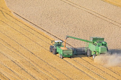 gambar combine harvester