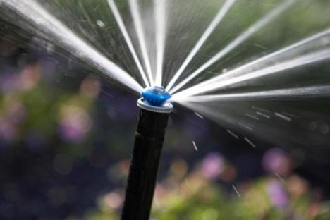 alat pertanian otomatis sprinkler