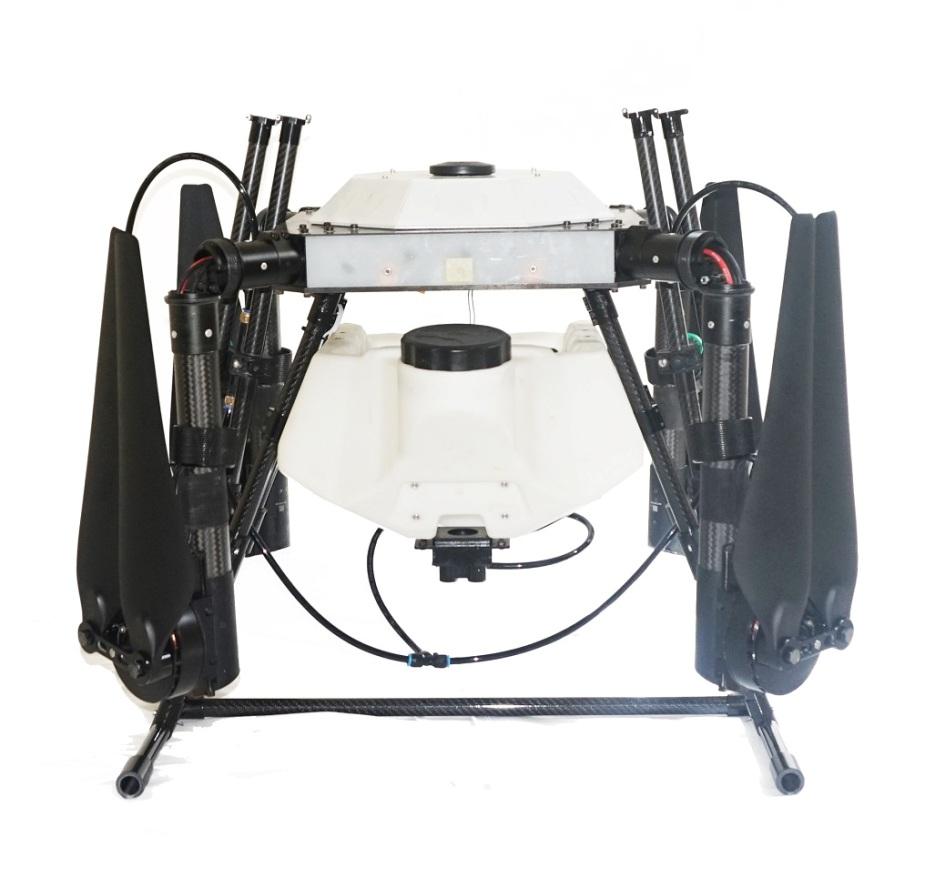 (Drone agriculture : alat sprayer canggih / gambar : fulldronesolutions.com)