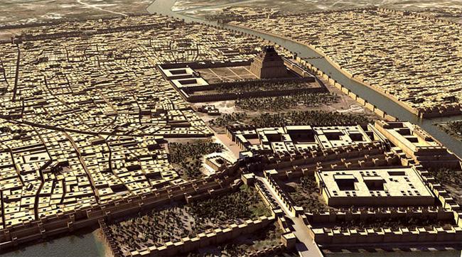 sejarah kartografi menurut suku babilonia