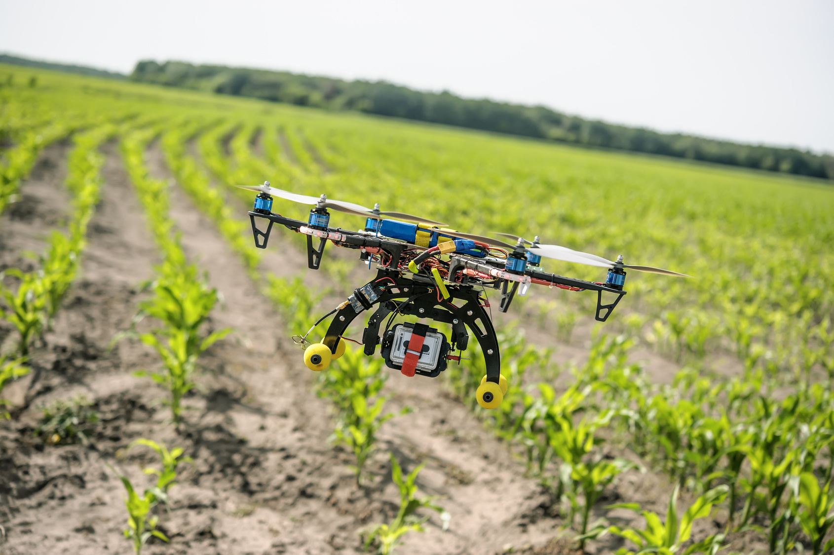 (Agricultural drone, mittechnologyreview)