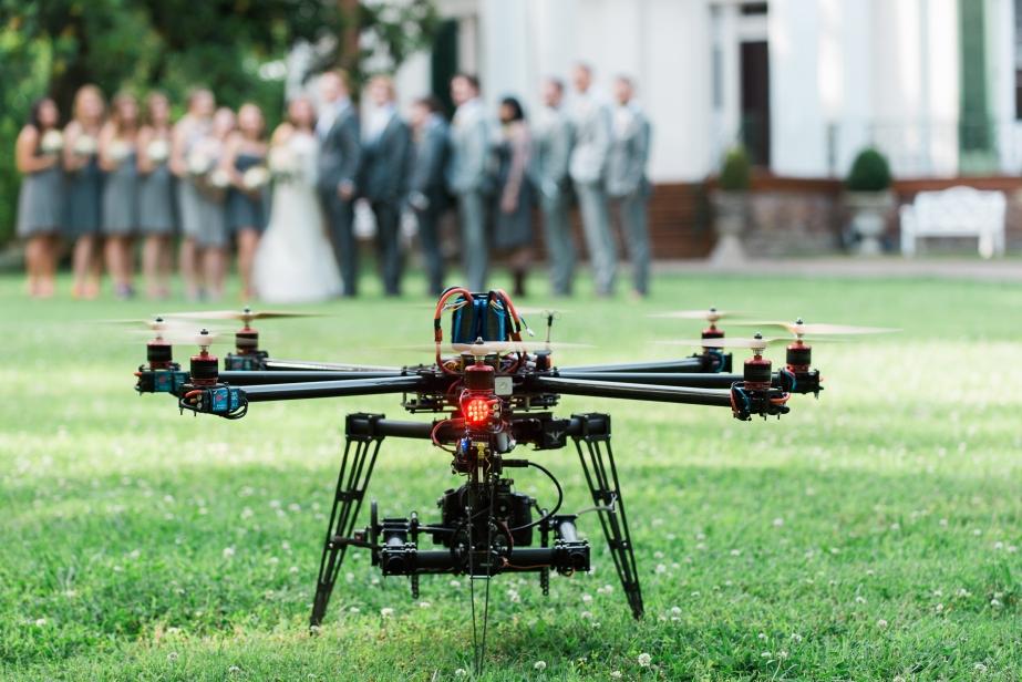 Drone fotografi untuk pernikahan   Gambar: topcareer.id