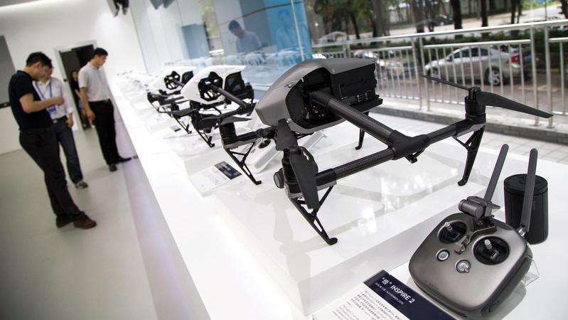 Shenzhen pusat pembuatan drone terbesar di China   Gambar: chinadailyhk.com