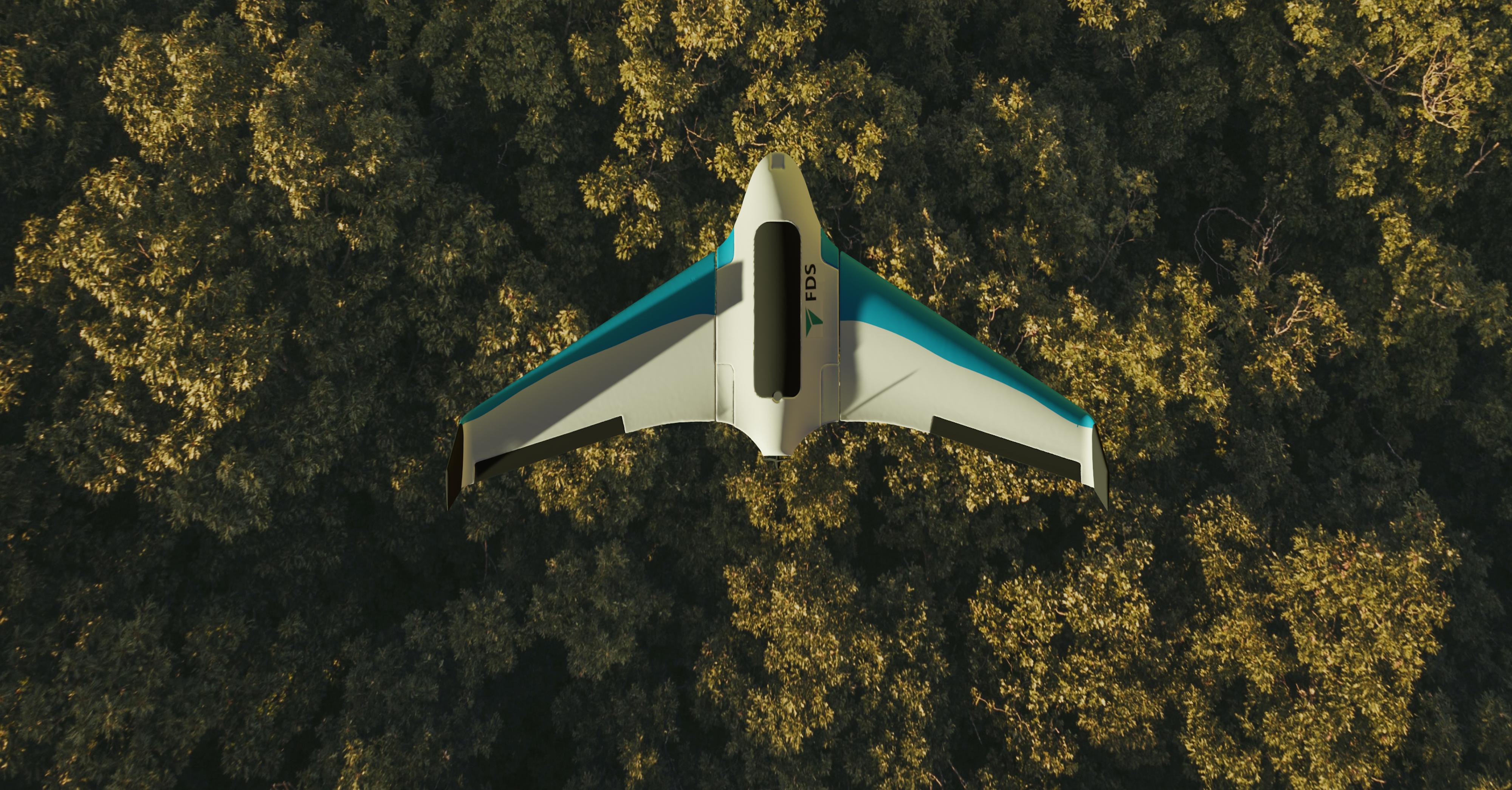drone hutan